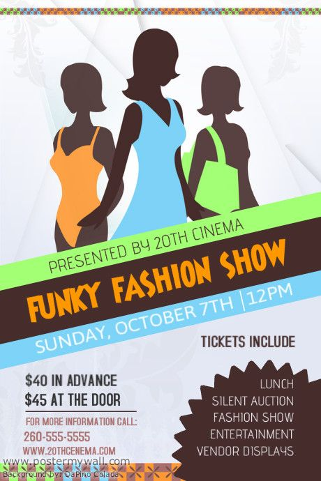 fashion-show-event-poster-template - fashion design posters