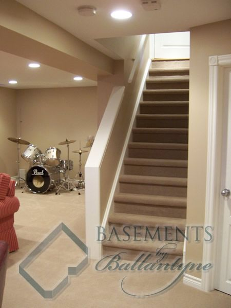 Basement Stair Designs Plans how to on making closed basement staircase into an open half wall