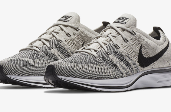 wholesale dealer 1c894 fa599 Official Images  Nike Flyknit Trainer Pale Grey
