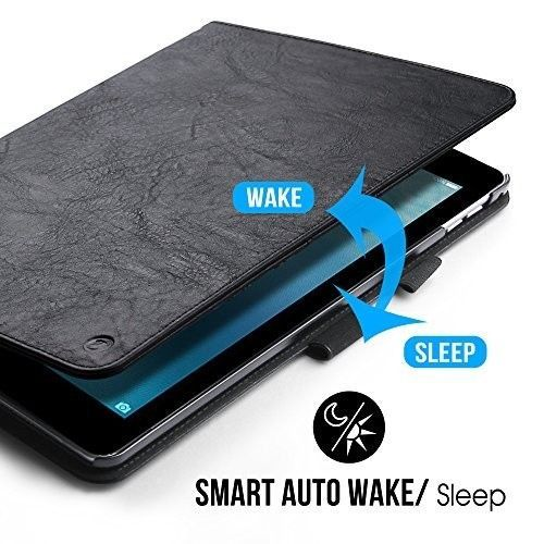 finest selection eb331 6f8f4 iPad Pro 10.5 Case 2017 Leather Flip Smart Cover Folio Cards Slots ...