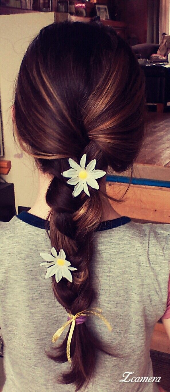 Cute hairstyle for people who love daisies daisies pinterest