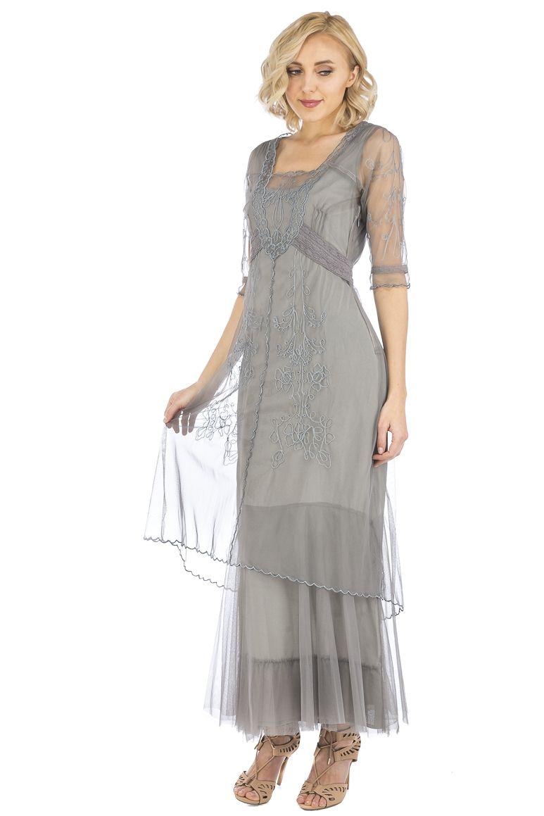 Wildly Romantic Nataya Dresses,Vintage Inspired Wedding
