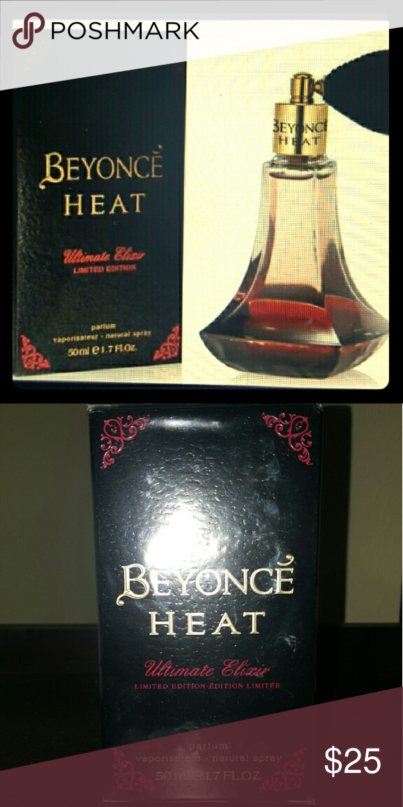 *New* Beyonce Heat Parfum Brand new_ Never opened  Limited Edition Beyonce Heat Ultimate Elixir Parfum 1.7 oz   Great addition or great gift for a great deal! Smells amazing Beyonce  Accessories