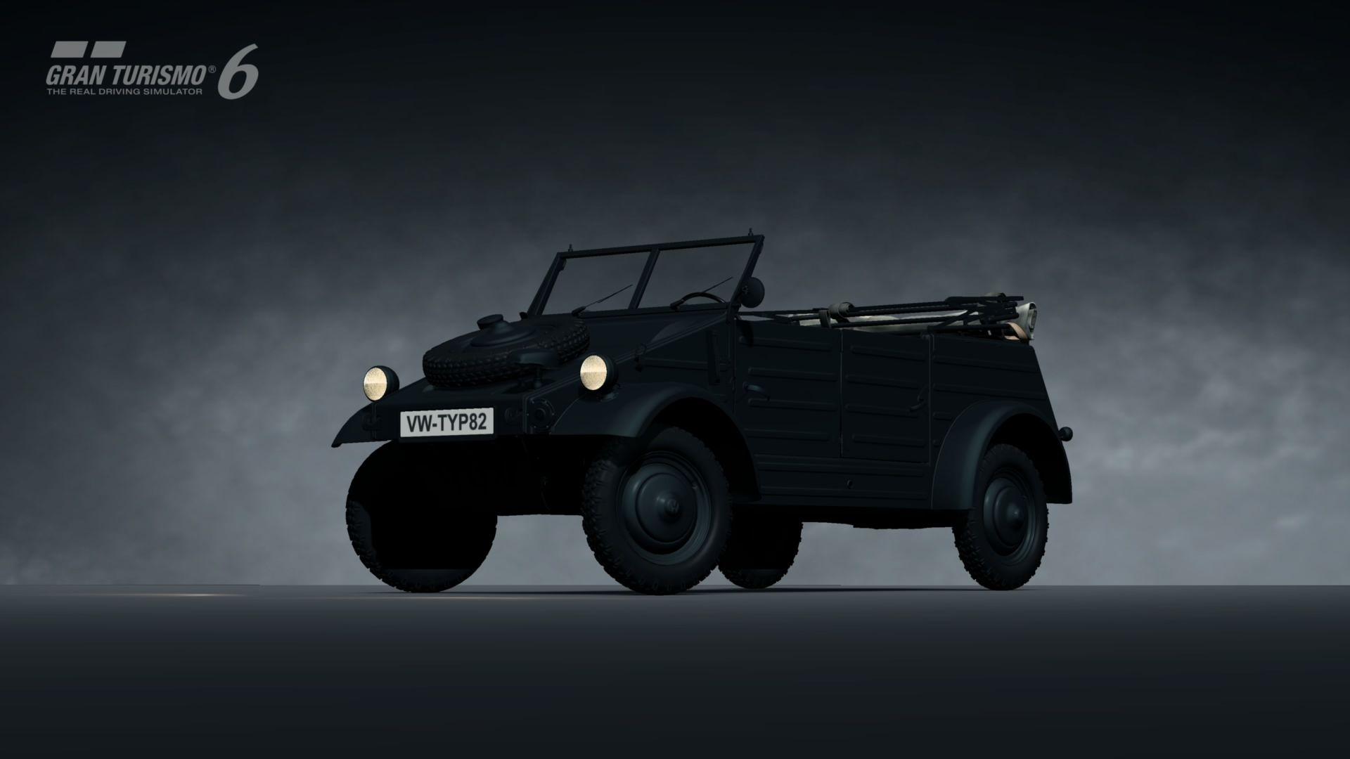 Volkswagen Kubelwagen Typ 82 44 My Gran Tursimo 6 Garage