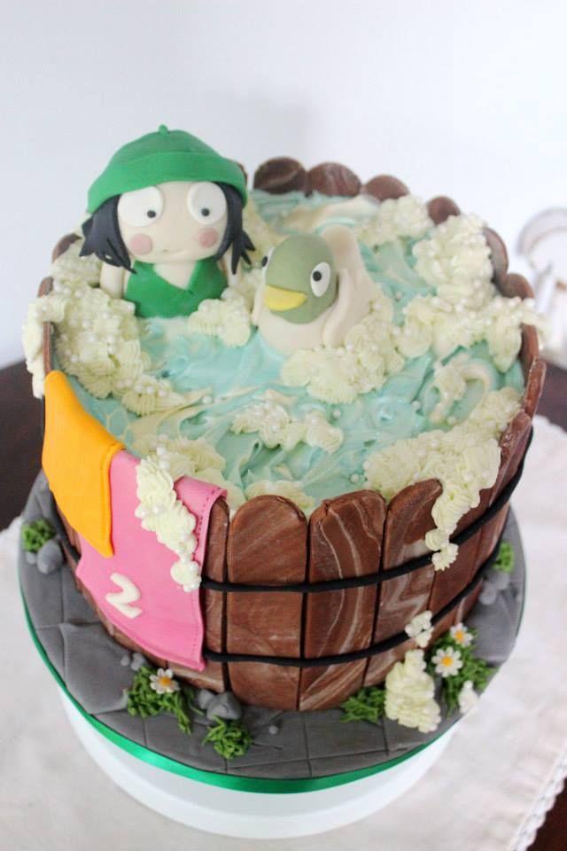 Sarah Duck Chocolate Cake For A 2nd Birthday Birthdaycake