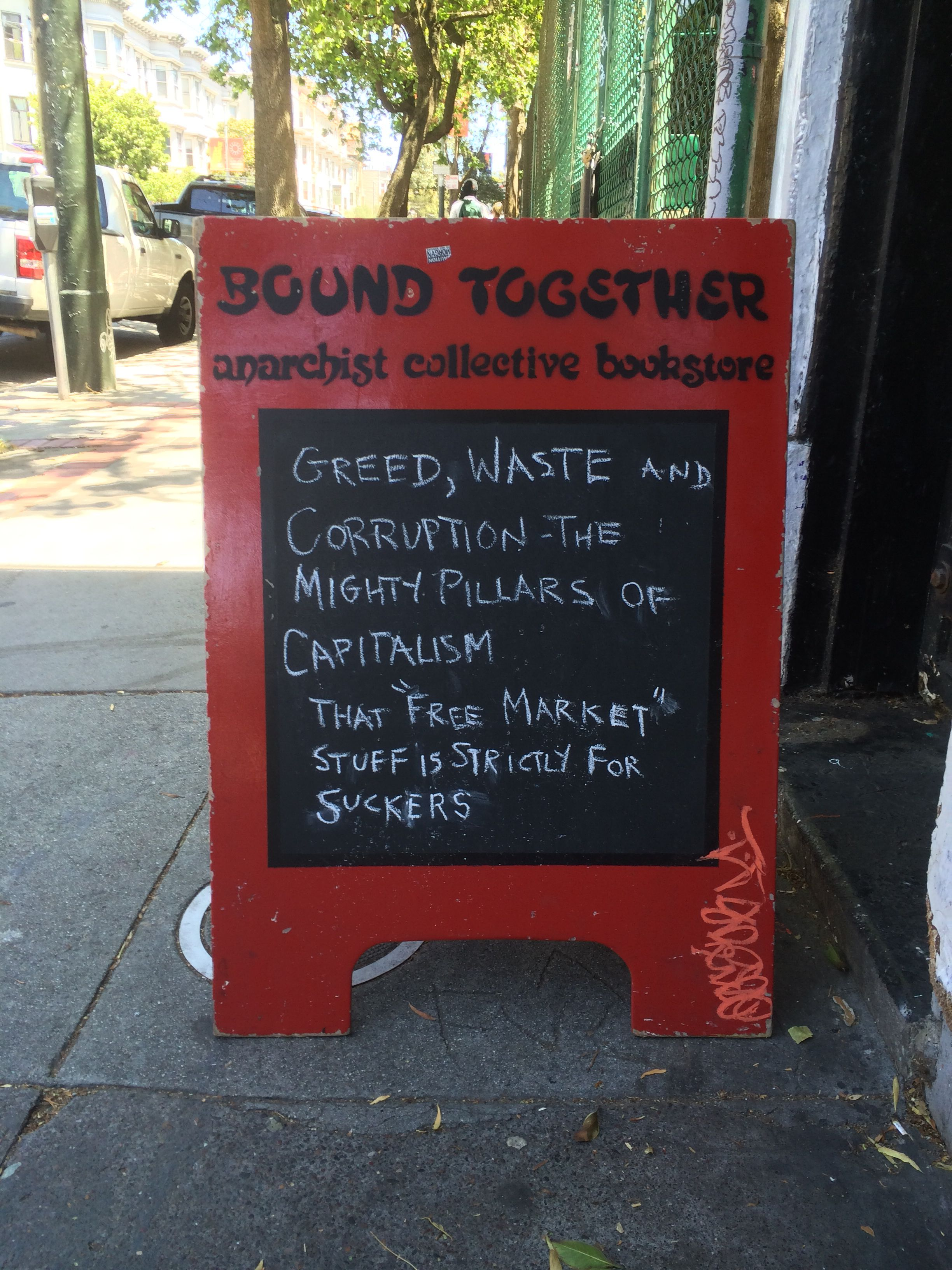 Anarchist Book Store in San Francisco