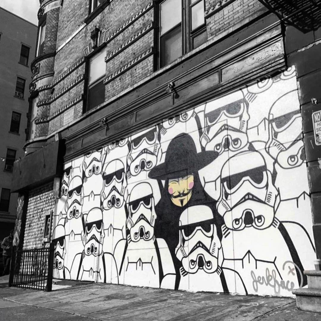 Love this wall incarceratedjerkfaces street art pinterest