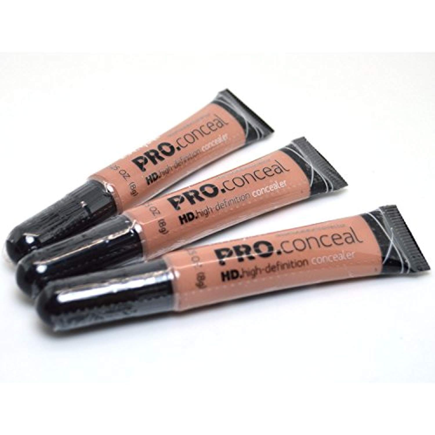 L.A. Girl Pro Concealer 3 x GC977 Warm Sand HD. High