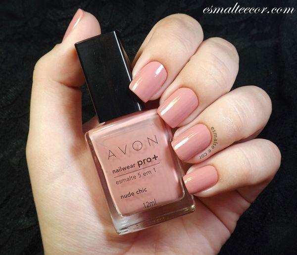 Esmalte AVON Nude Chic   makeup   Pinterest   Avon, Esmalte y Manicuras