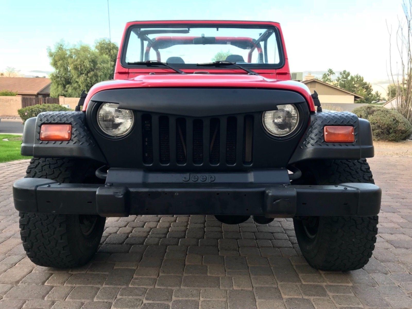 eBay 1998 Jeep Wrangler Sport Sport Utility 2Door 1998