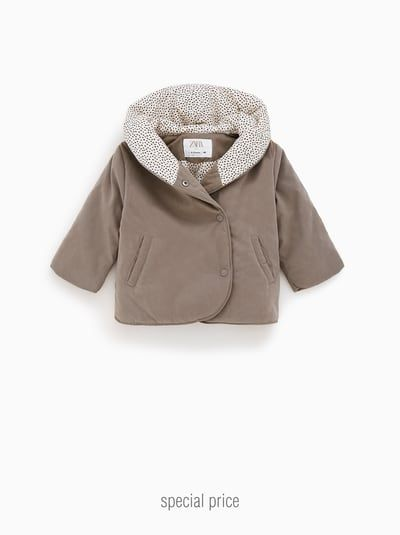 Baby Girls' Outerwear | ZARA United States | Wrap coat ...