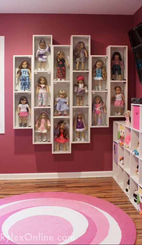 American Girl Doll Display Case | Rylex