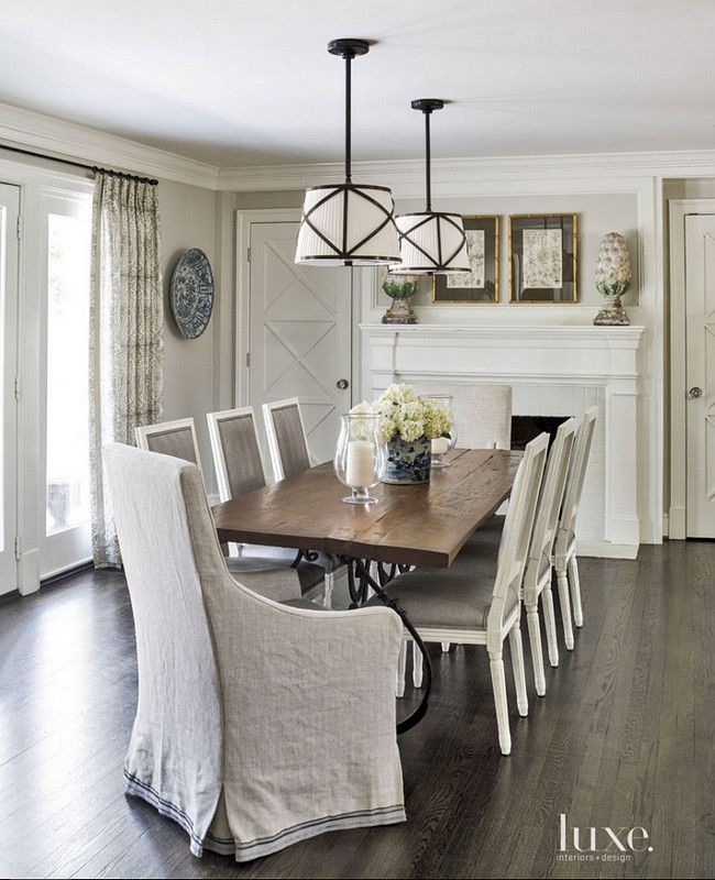 Half Strength Benjamin Moore Revere Pewter Beth Gularson Via Luxe Magazine Helen Norman Photography