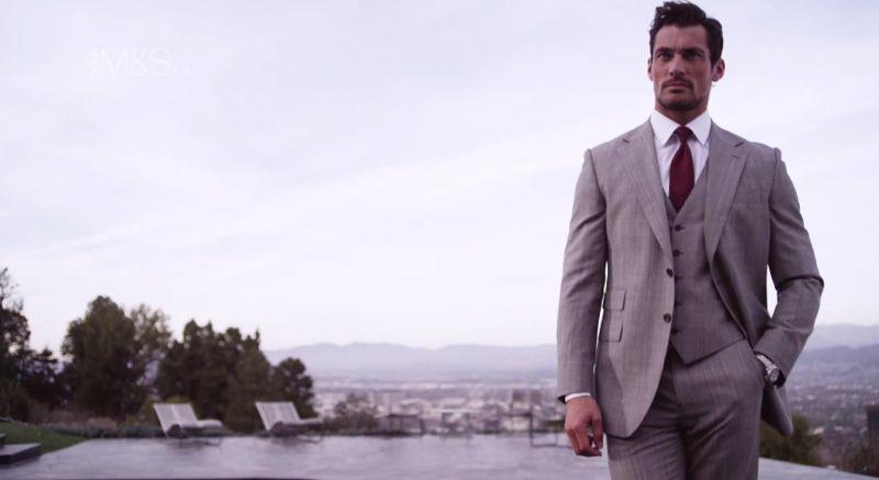 David Gandy for Marks & Spencer Summer Menswear Spotlight image David Gandy Model 007