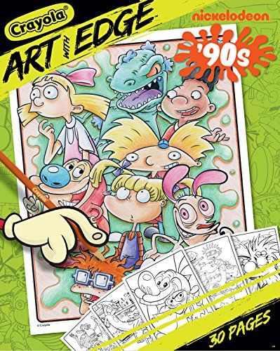 Crayola Art With Edge Coloring Pages Nickelodeon Toy Crayola Https Www Amazon Com Dp B071v2pstz Ref Cm Sw R Pi Dp X Crayola Art Coloring Books Coloring Pages