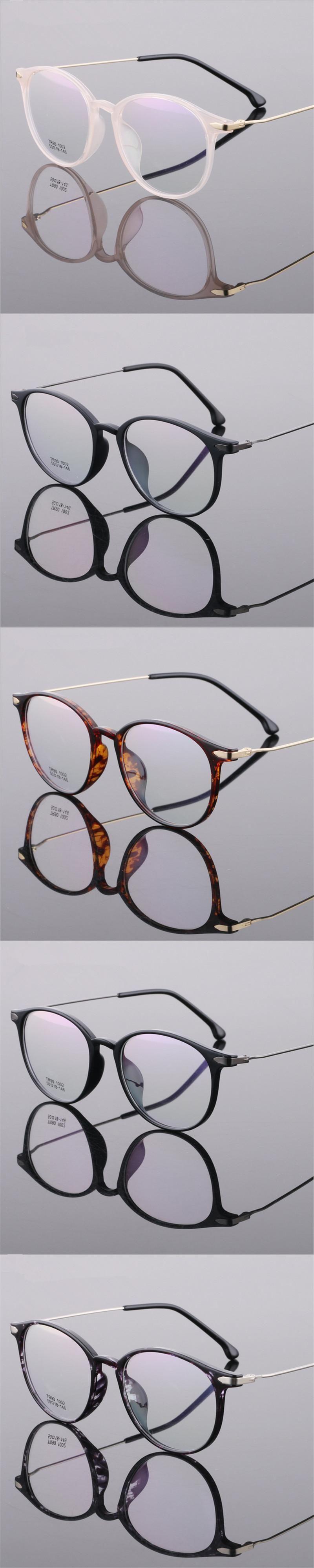 ff343a84b2 Women Men Vintage Round Eyewear Frames Retro Optical Glasses Frame  Eyeglasses Goggle Oculos Ultra-light