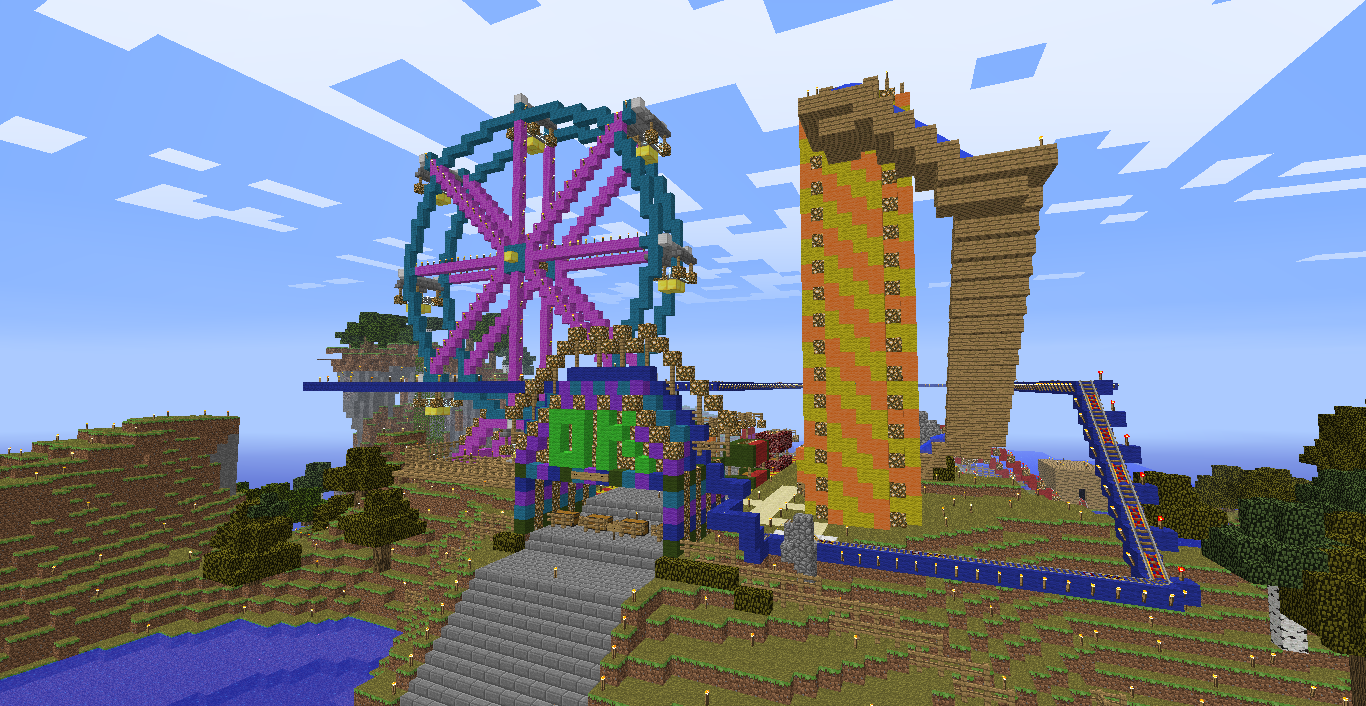 Oklahomac State Fair   Minecraft Ideas   Minecraft houses