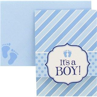 Its a boy baby shower invitations shop hobby lobby baby shower its a boy baby shower invitations filmwisefo Images