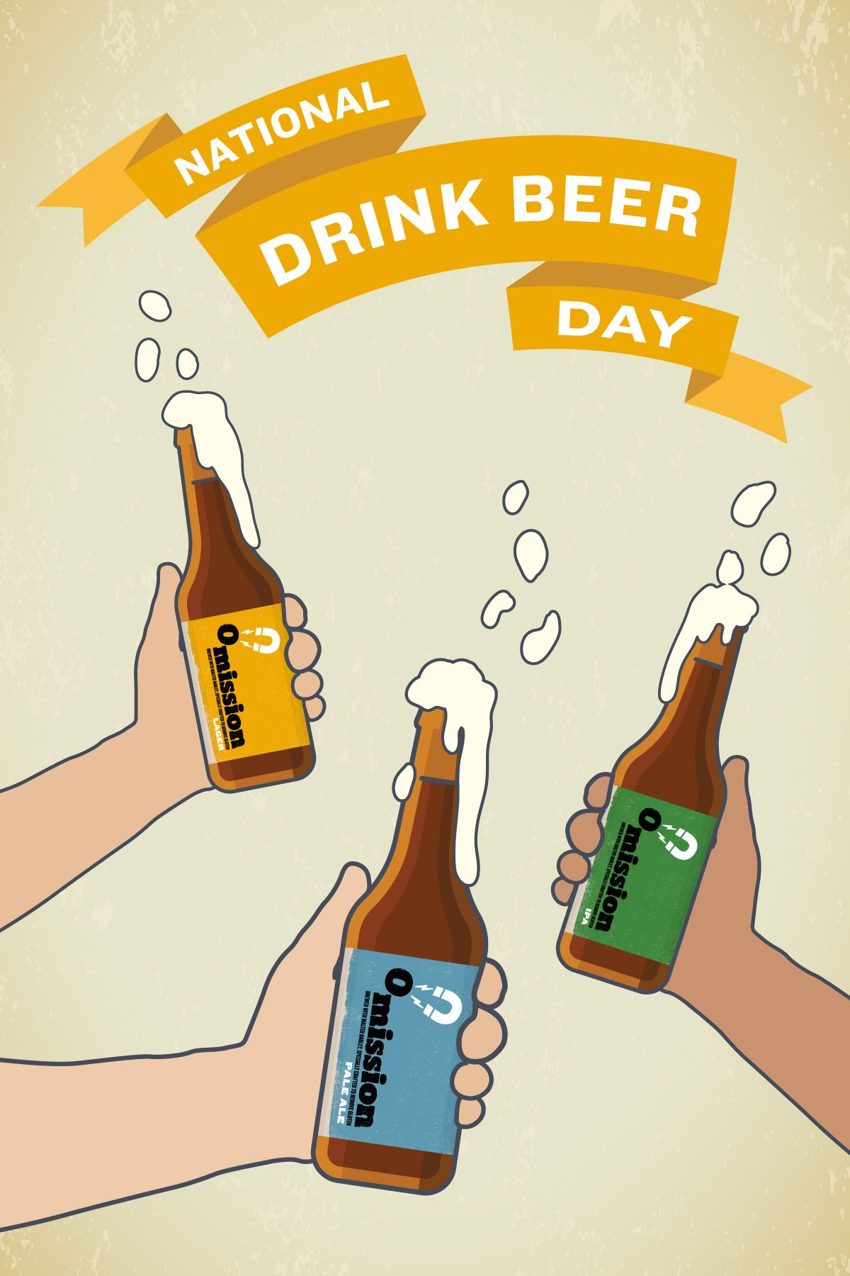 Happy National Drink Beer Day Time To Celebrate With A Refreshing Craft Brew National Drink Beer Day Beer Day Craft Brewing