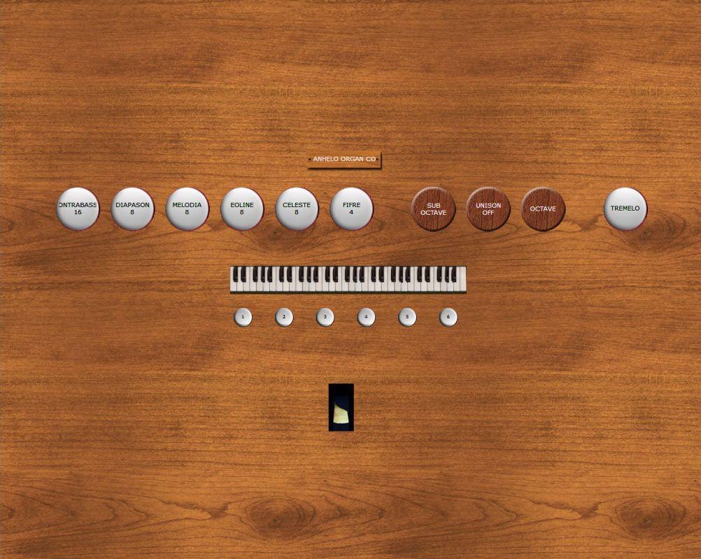 Silver Octopus - Harmonium: Tags: software, keyboards, virtual