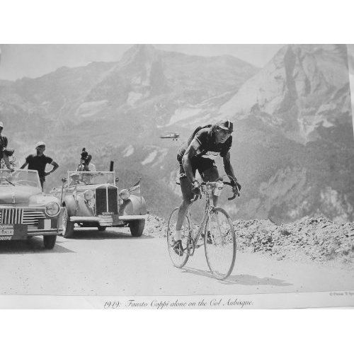 1958 Tour de France Magazine Cover Art Retro Vintage Cycling Velo Poster Print