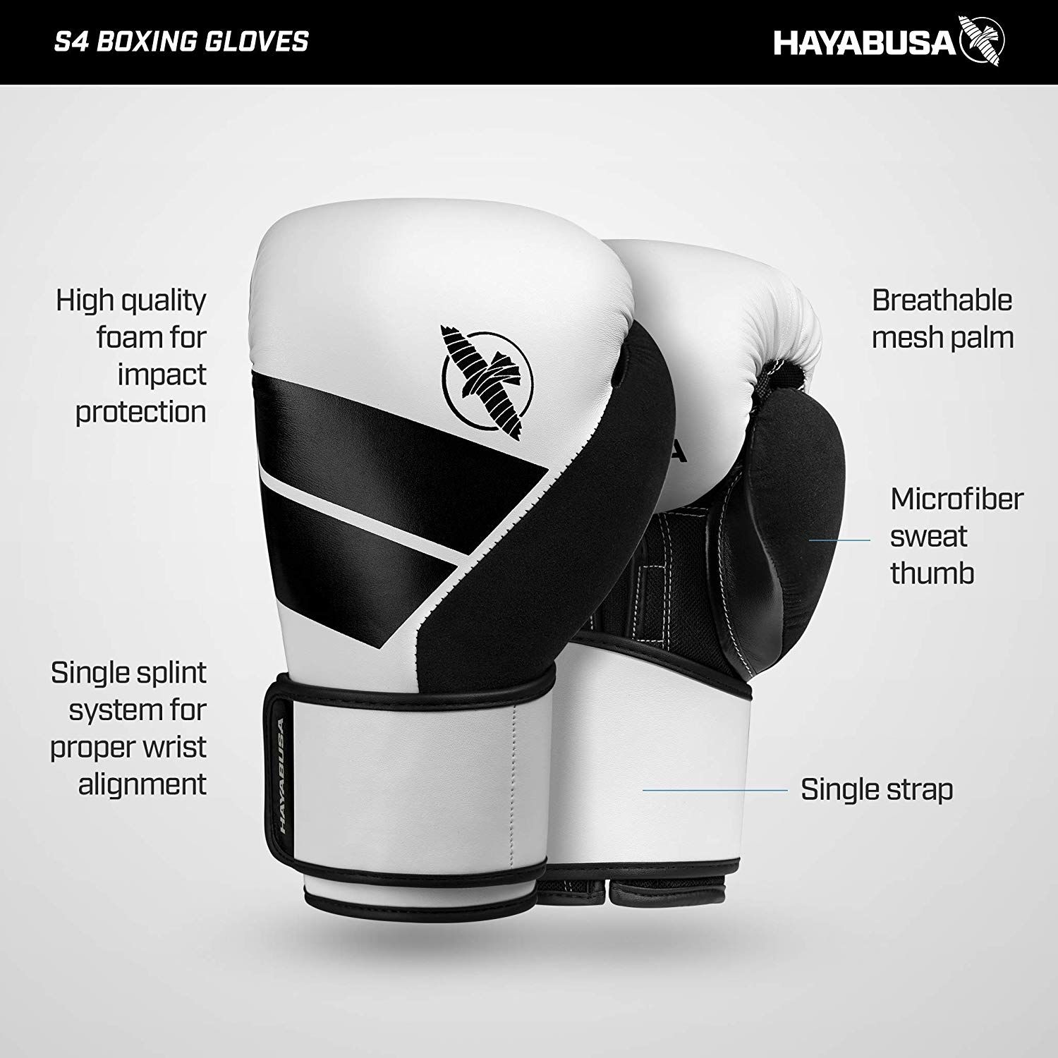 4a73f46f362e0 Amazon.com : Hayabusa Boxing S4 Training Gloves : Sports & Outdoors ...
