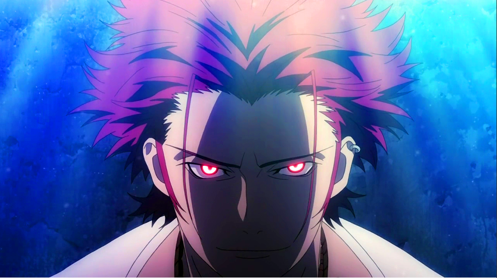 Red Eyes Angry Mikoto K project, Suoh mikoto, K project