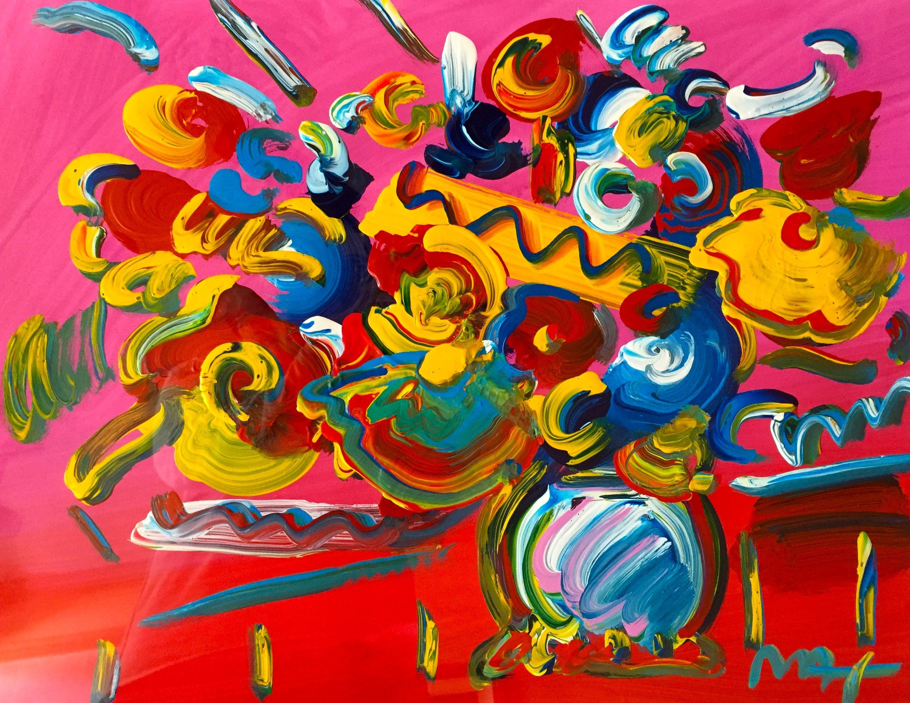 peter max art for sale art pinterest peter max art and art flowers. Black Bedroom Furniture Sets. Home Design Ideas