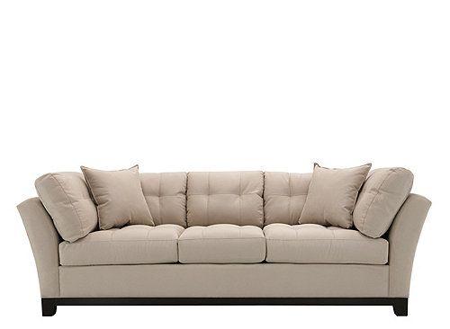 Cindy Crawford Home Metropolis Microfiber Sofa Raymour And