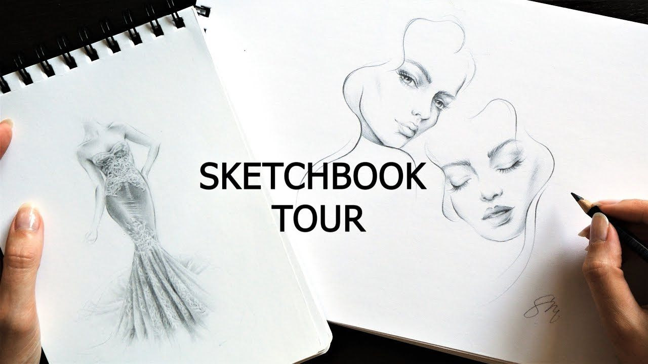 Sketchbook Tour And Tips My Older Sketchbooks From 2018