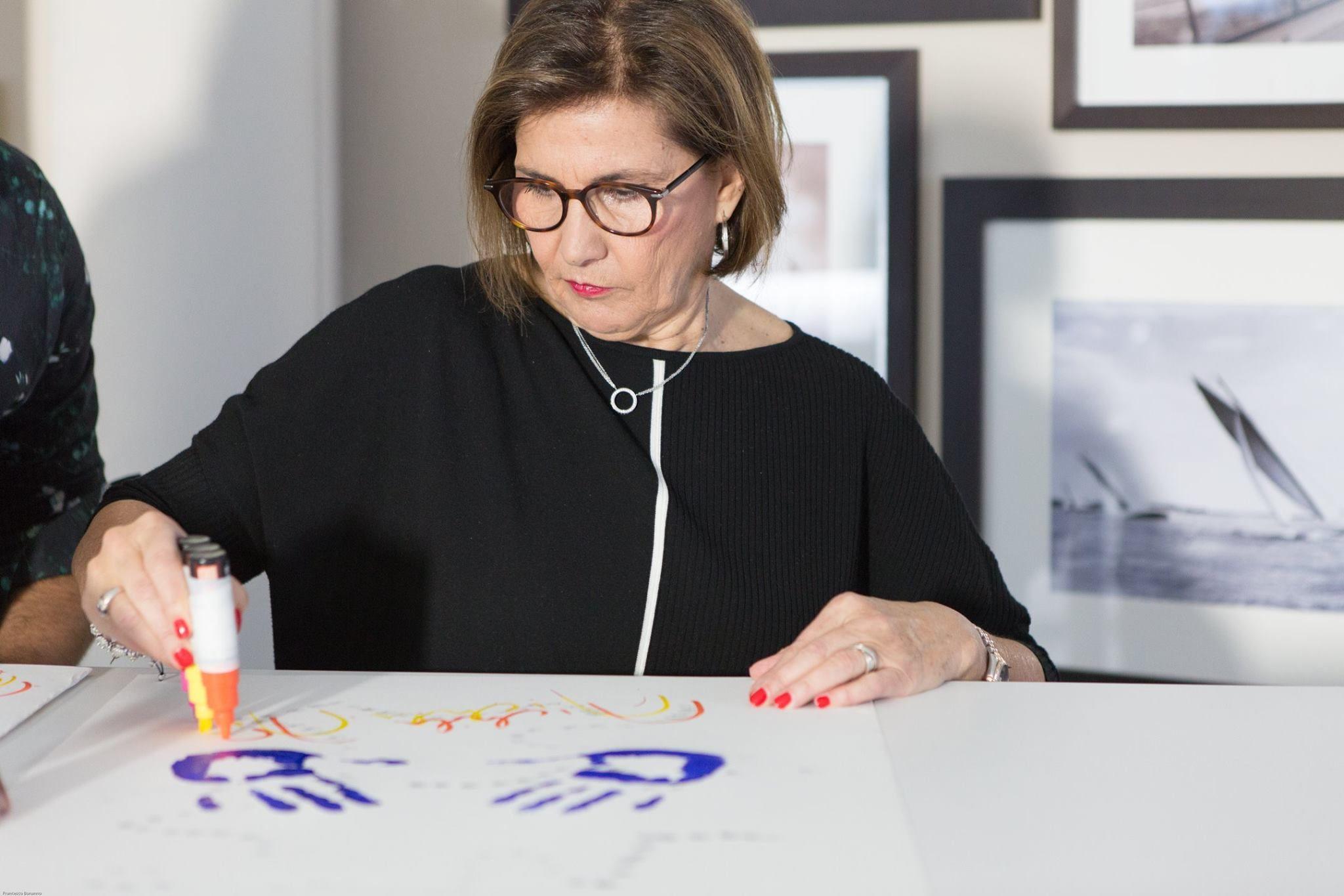 Michèle Mouton au 2ème WSLA Handprints Show, Les Oscars du