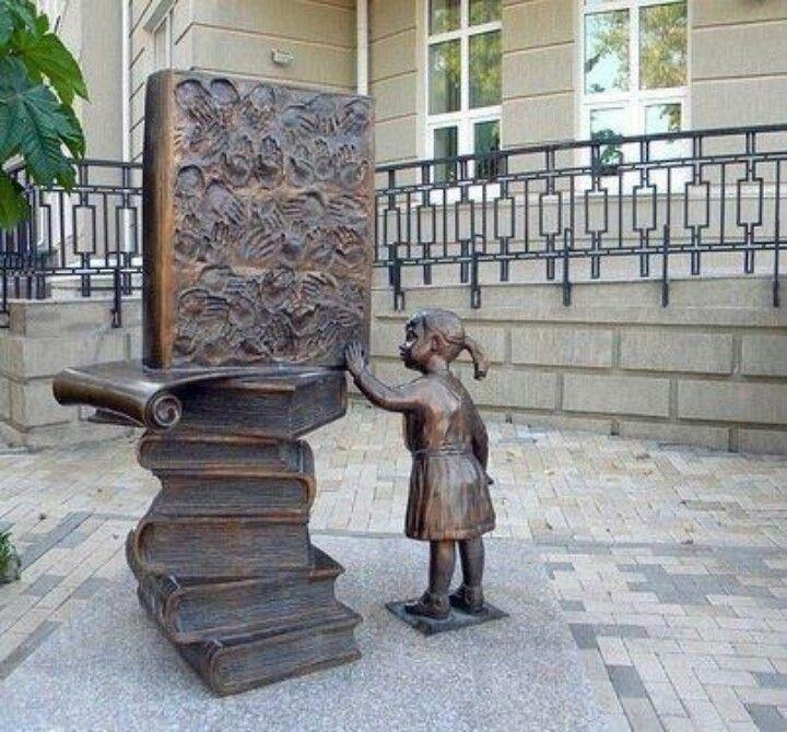 Coraline   Book sculpture, Sculpture art, Public sculpture