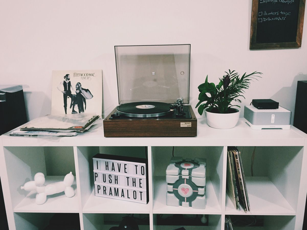 Streaming Vinyl With A Sonos Connect Amp Reckoner Record Player Setup Record Player Shabby Chic Bedroom Furniture