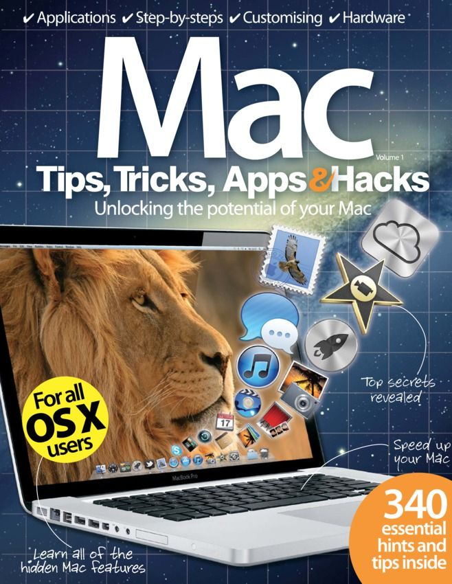 Mac Tips, Tricks, Apps  Hacks Magazine - Buy, Subscribe, Download