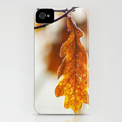 Quercus Rubra iPhone Case by Tanja Riedel - $35.00