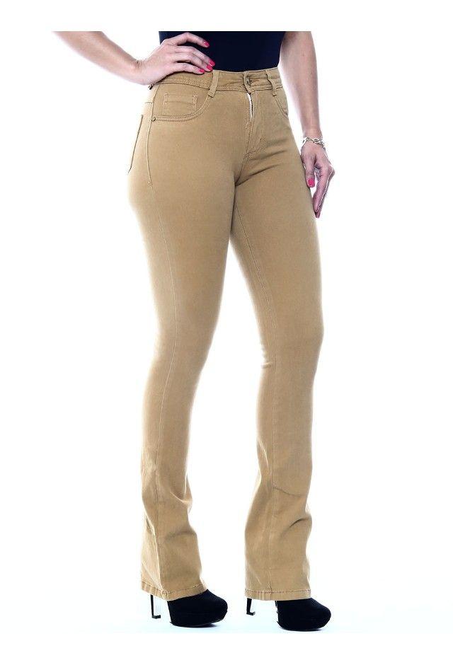 db13b3a53 Calça Jeans Feminina Flare Hot Pant - 245799 - SawaryB2C