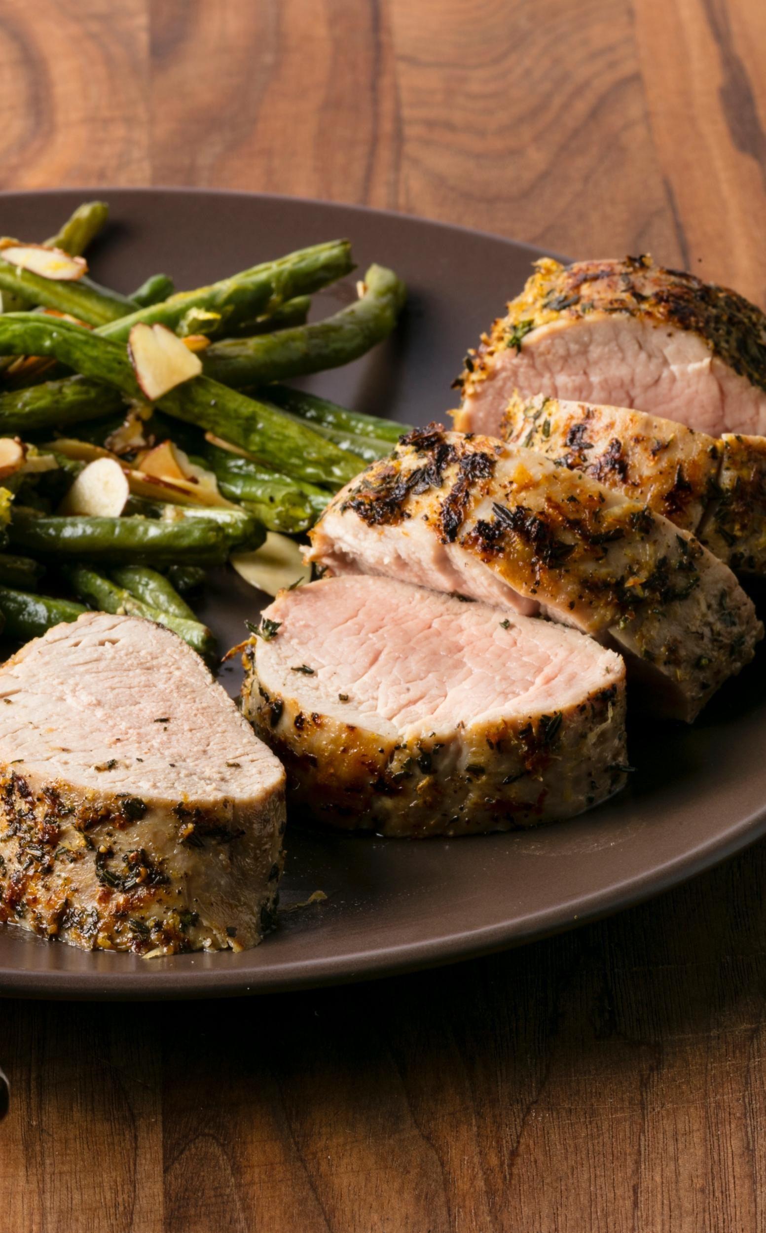 Lemon-Herb Pork Tenderloin: Our Lemon-Herb Pork Tenderloin