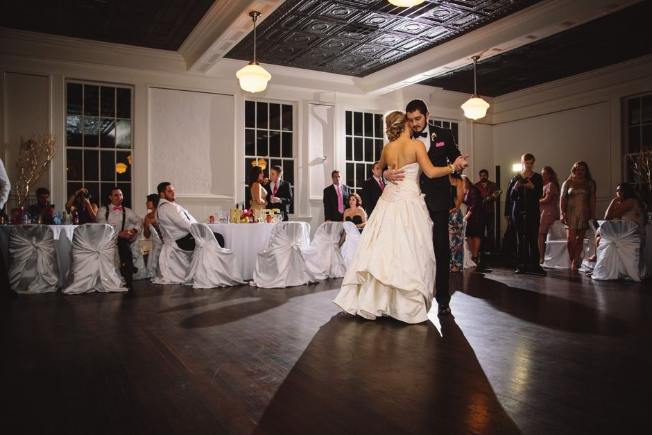 Heights Fire Station Wedding