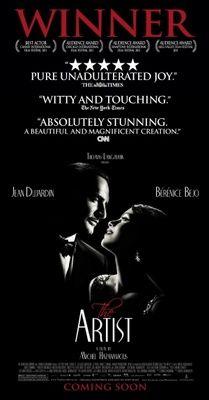 The Artist Movie Poster 2011 Poster The Artist Movie Oscar Winning Films Jean Dujardin