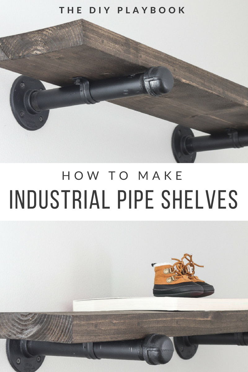 Photo of How to Build DIY Industrial Galvanized Pipe Shelves | The DIY Playbook