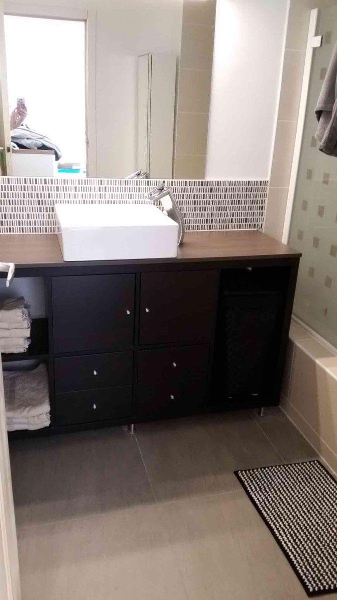 Kallax Bathroom Vanity For Small Bathroom Ikea Hackers Small Bathroom Vanities Small Bathroom Ikea Bathroom