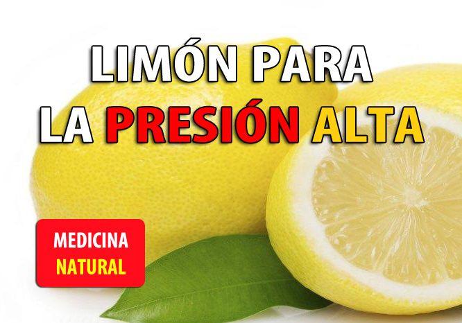 El Limón y la Cura para la Presión Alta - Remedios para la..