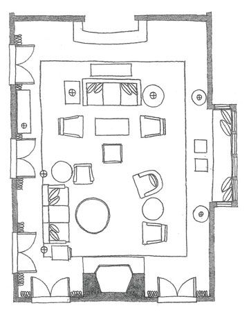 Living Room Floor Plan With Furniture - Euskal.Net