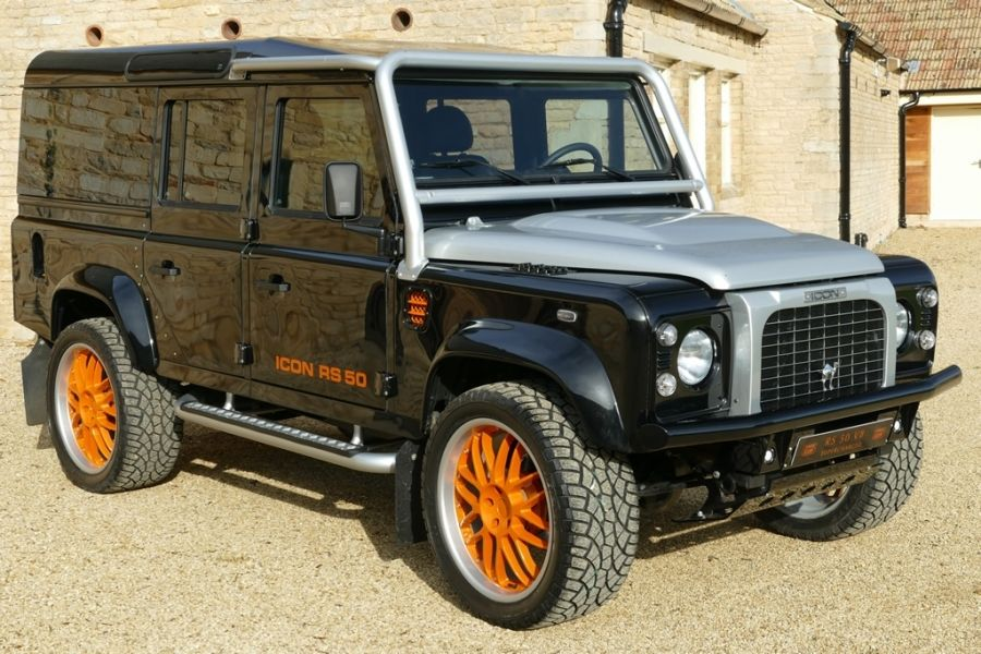Land Rover Defender Icon 5 0 V8 Rs Edition Currently In Build New Lhd Defender Icon 110 5 0 V8 420bhp Opti Land Rover Defender Land Rover Land Rover Series