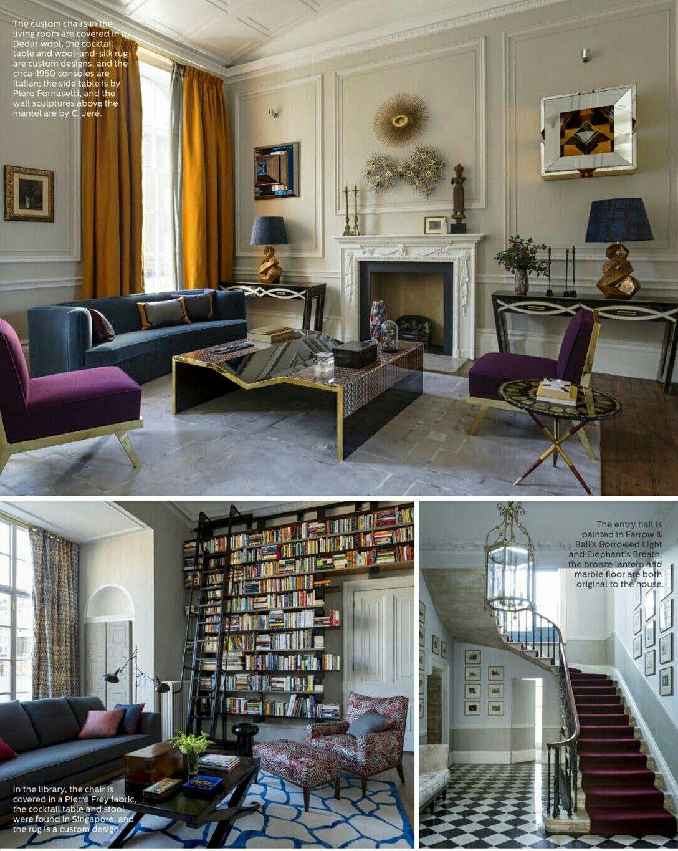 elle decor interior design by patricia sanchiz blanca fabre Proyectos,  Decoración De Interiores, Elegancia