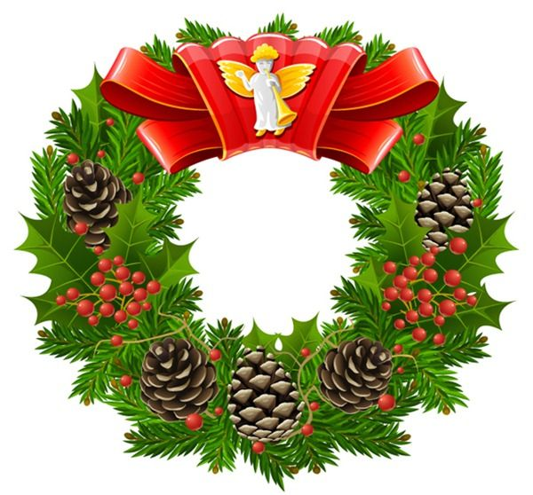 Christmas Angel Wreath Vector Download My Free Photoshop World Christmas Wreaths Christmas Angels Christmas Wreath Pictures