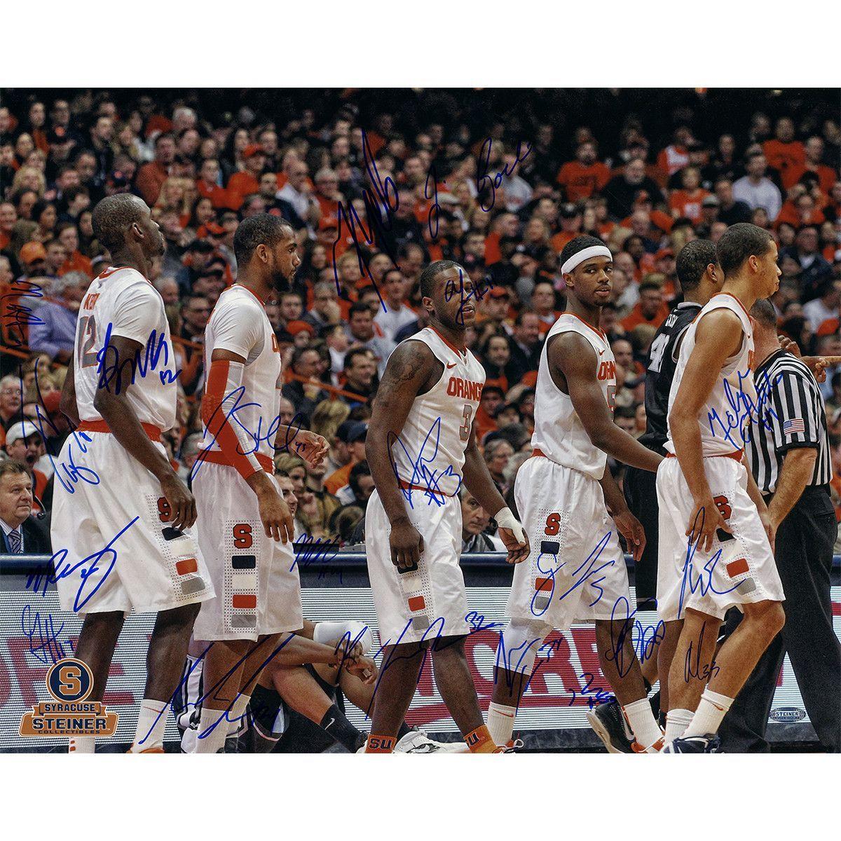 Syracuse Basketball 20112012 Season White Jerseys Team