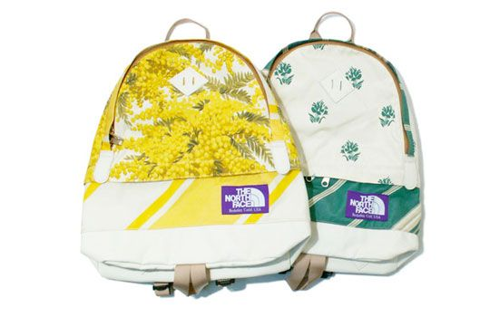 The North Face Purple Label 'Flower Pattern' Backpacks