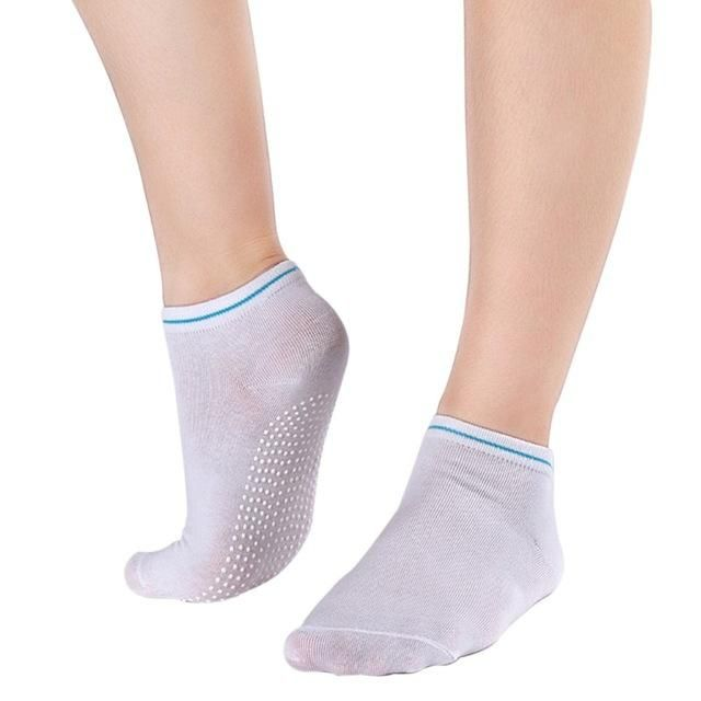 Yoga Women Socks Fitness Exercise Sports Non Slip Ankle Grip Pilates Toe Socks