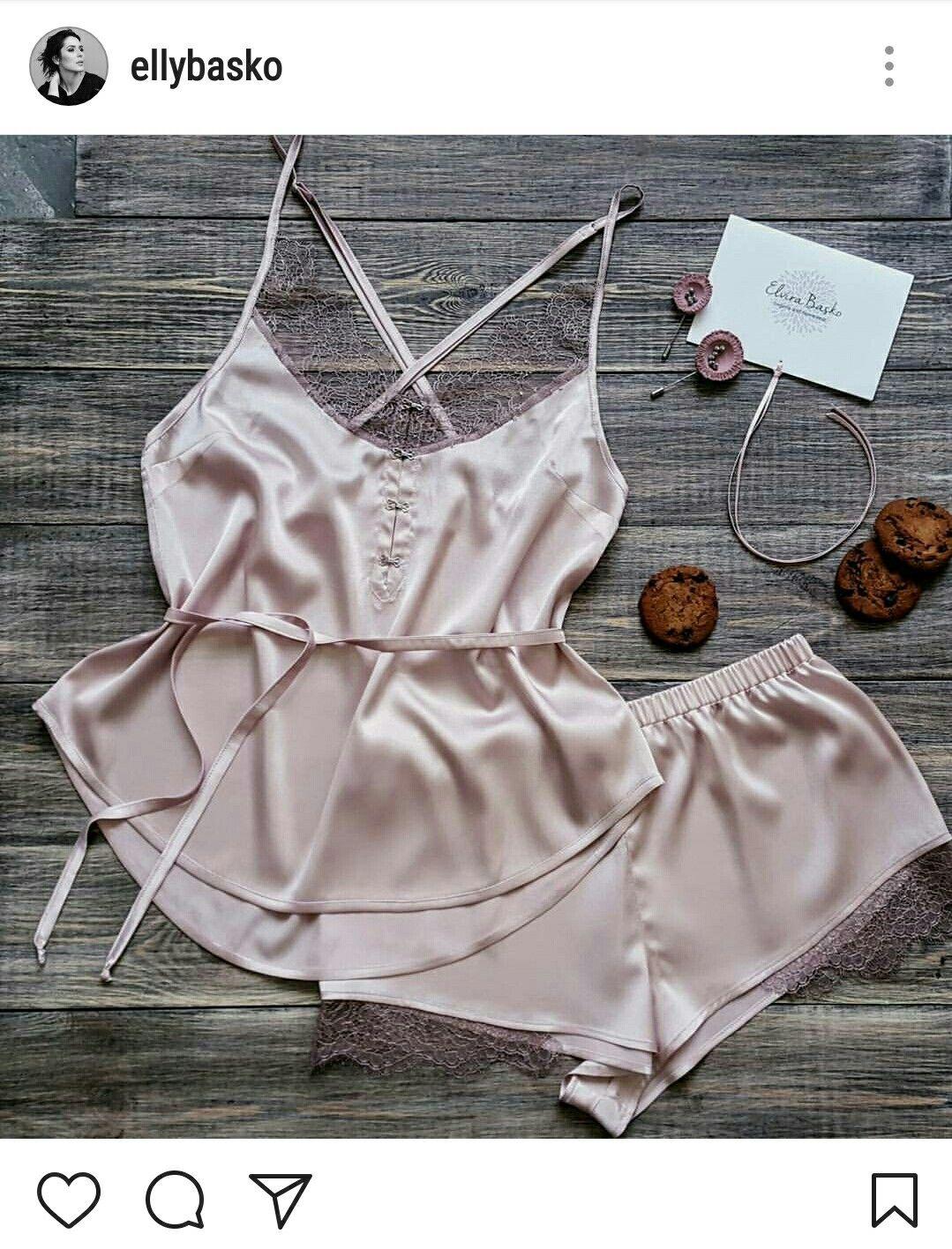 женское нижнее белье для сна пижамы